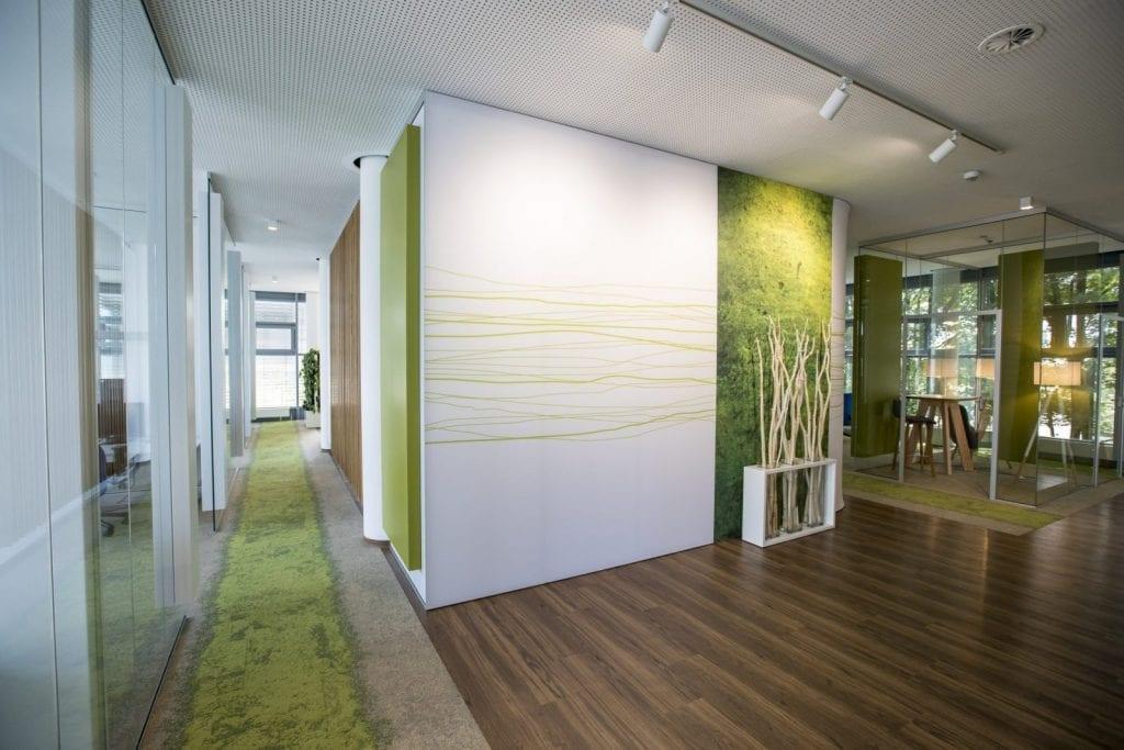 Büroraum bei Faurecia