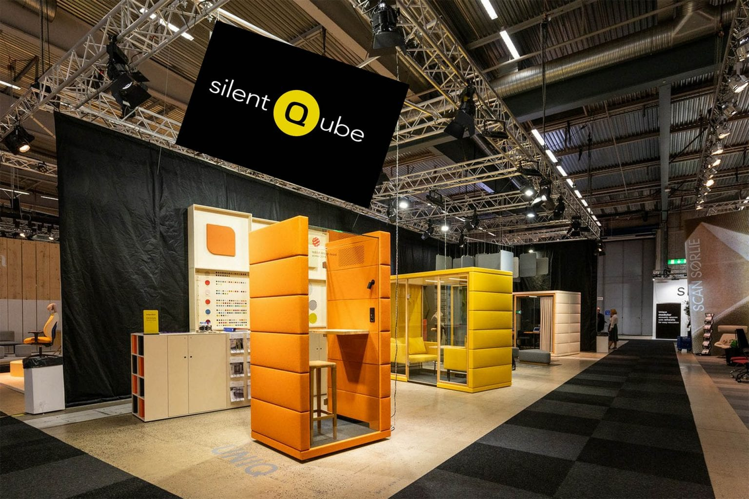 Silent Qube Messe-Stand