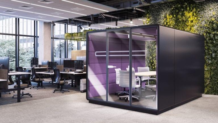 Work Box im Büro