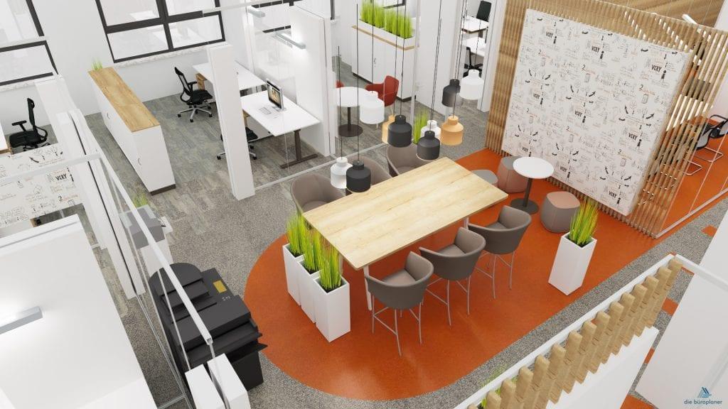 Akustiklösung büro