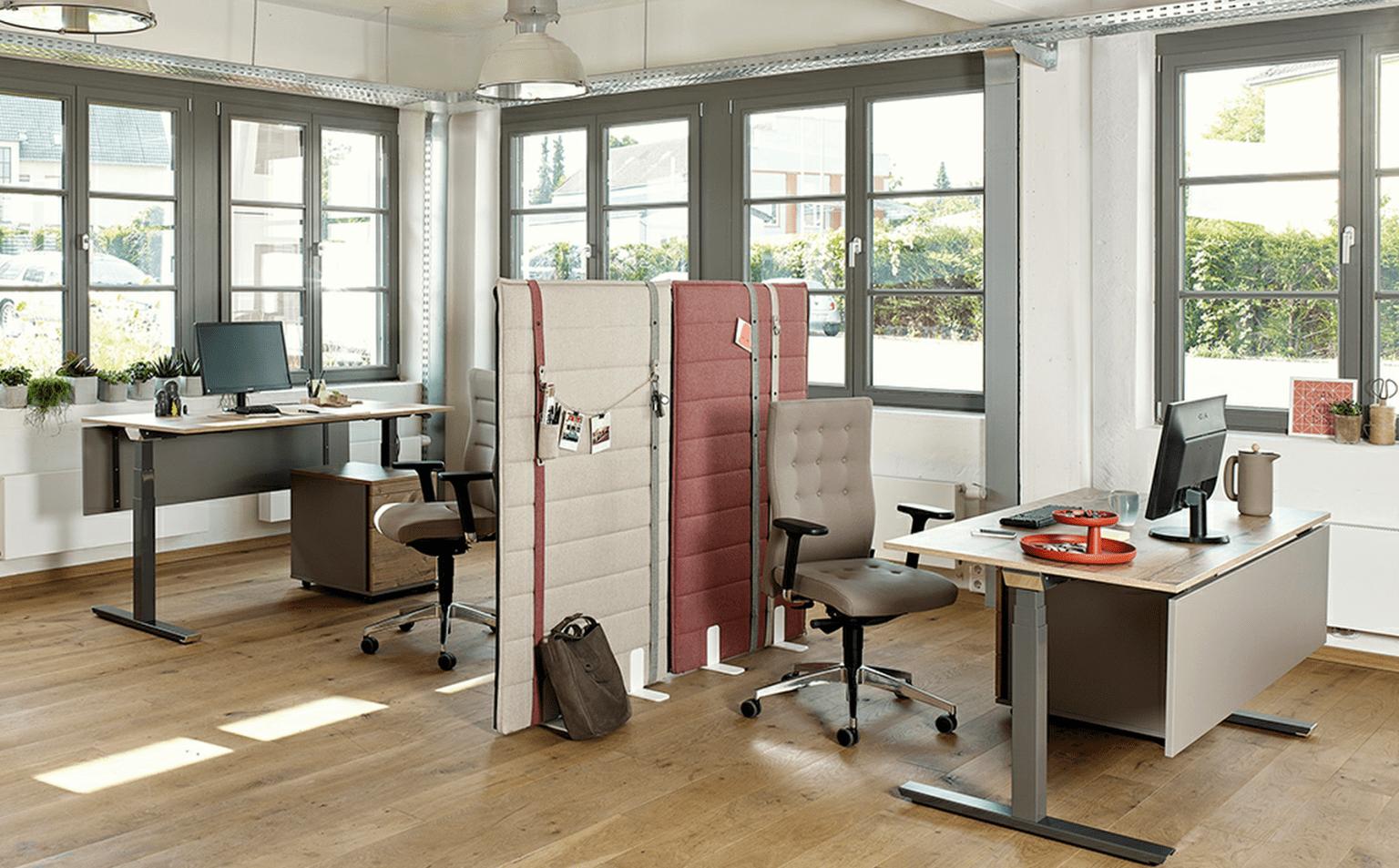 Büromöbel und Bürostühle