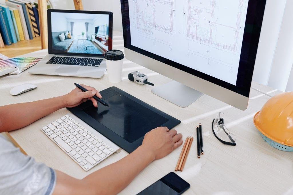 Durchdachte Büroplanung