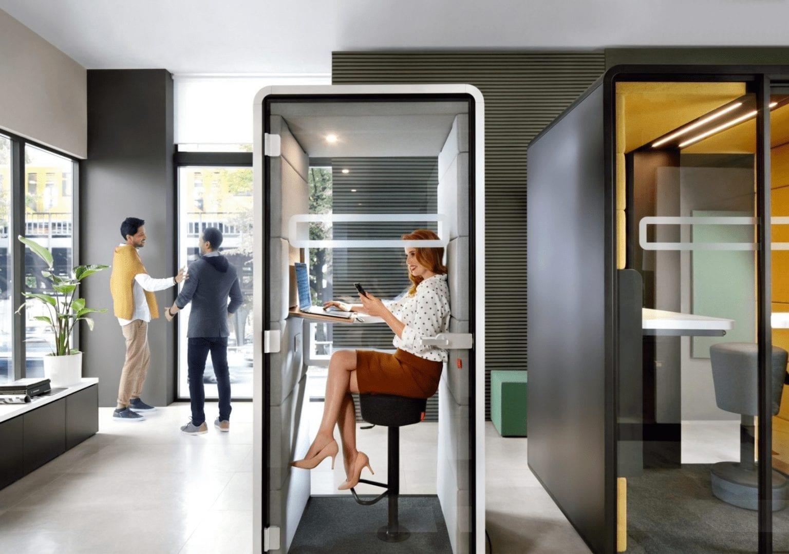 Telefonbox für Büro