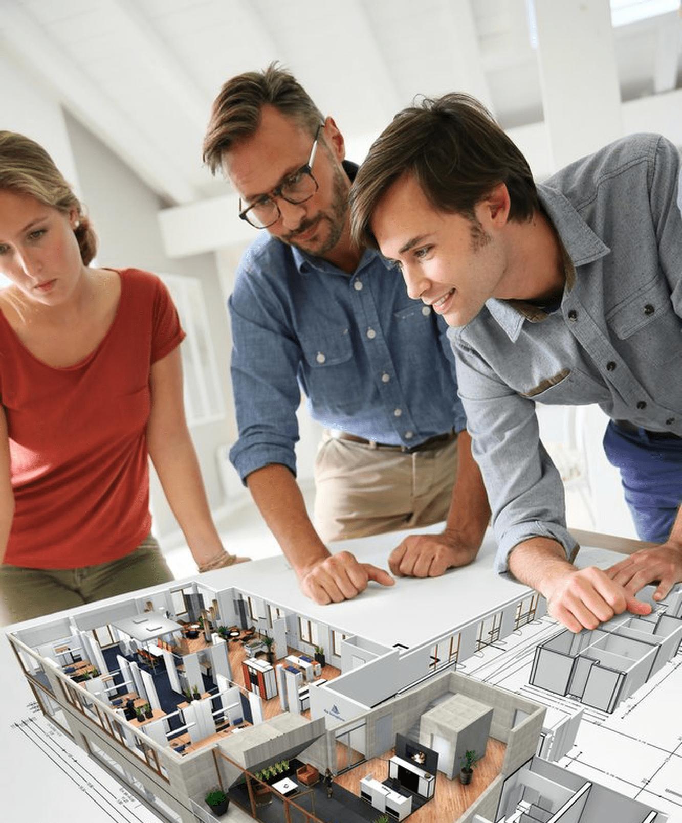 Methoden für Büroplanung
