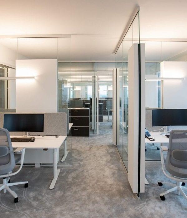 Raum in Raum Bürosystem